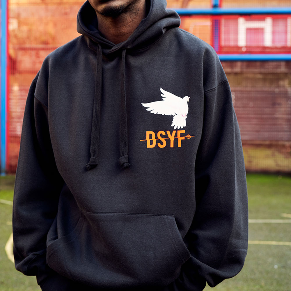 2HR SET - DSYF Dove Hoodie (Black)