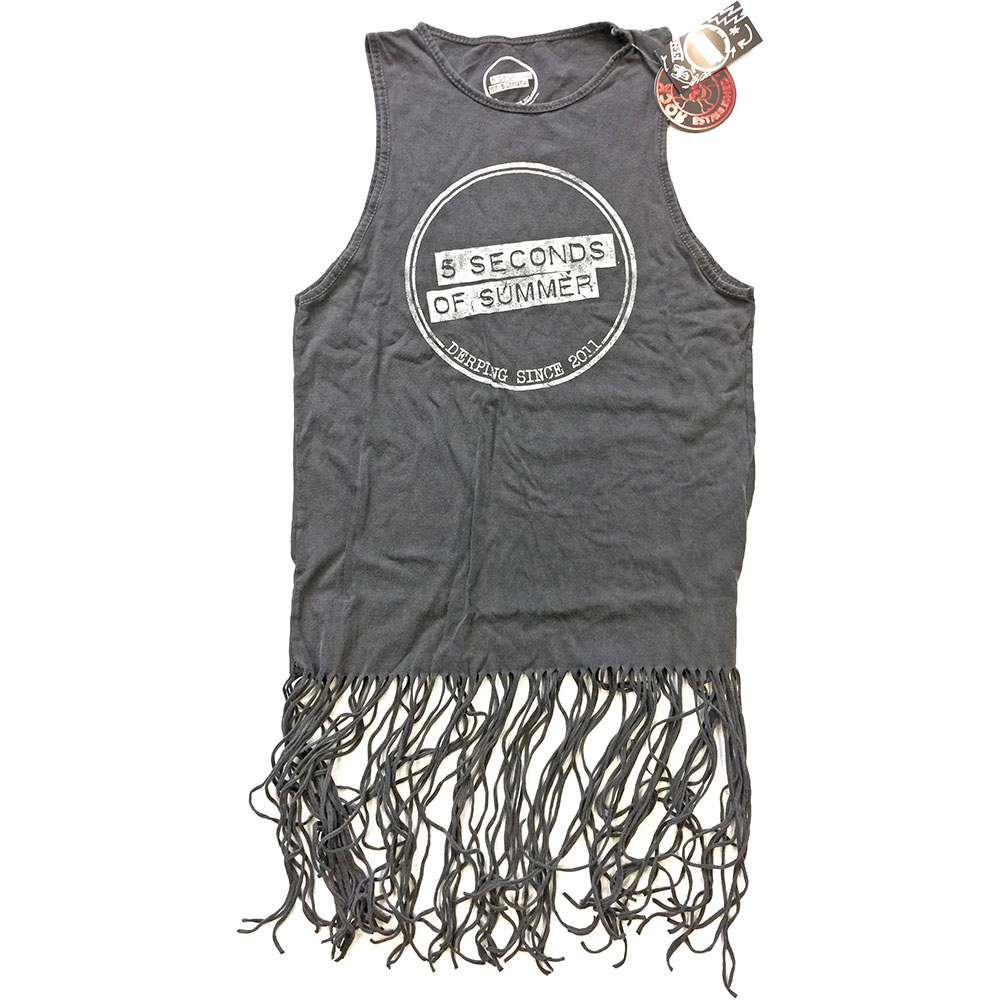 5 SECONDS OF SUMMER - Derping Stamp Vintage (Tassels)