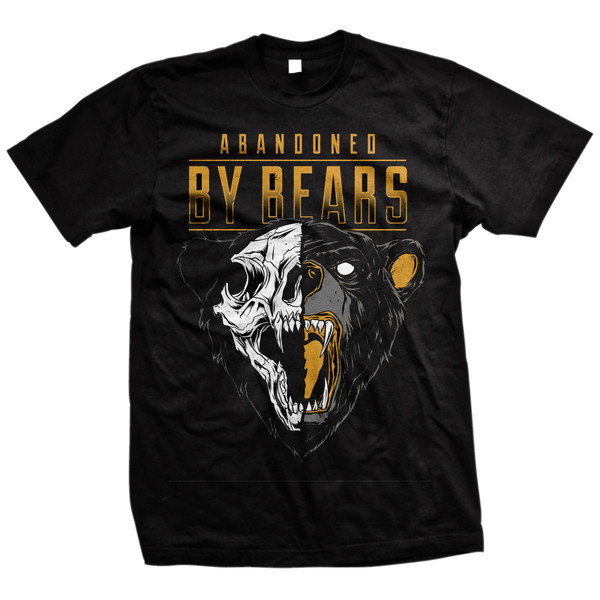 Abandoned By Bears - Bear Skull (Black)