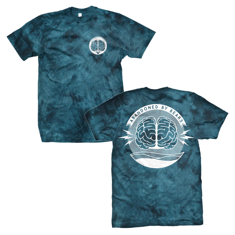 Abandoned By Bears - Brain (Blue Tie Dye)