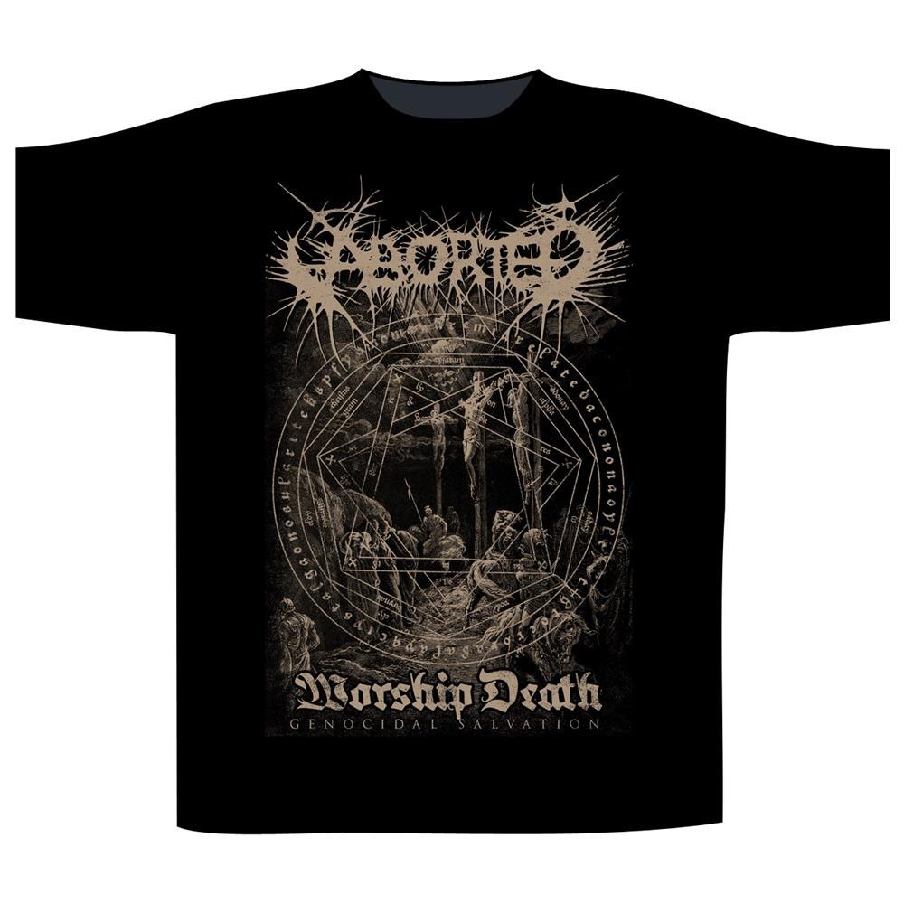 Aborted - Worship Death (Black)