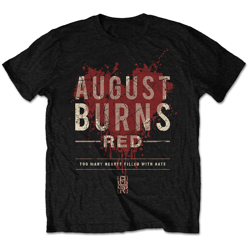 August Burns Red - Heart Filled (Black)