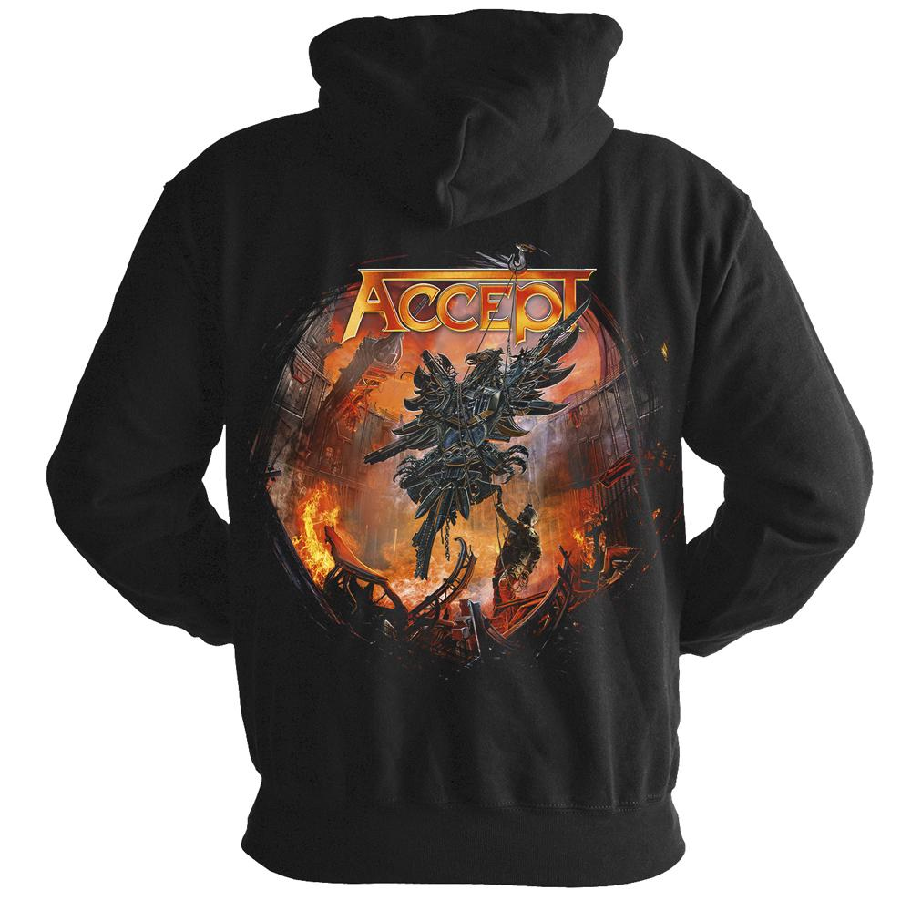 Accept - The Rise Of Chaos (Zipped Hoodie)
