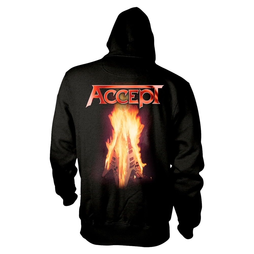 Accept - Flying V (Zip Hoodie)