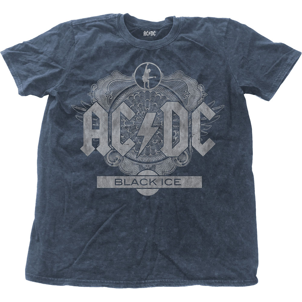AC/DC - Black Ice (Snow Washed - Denim Blue)