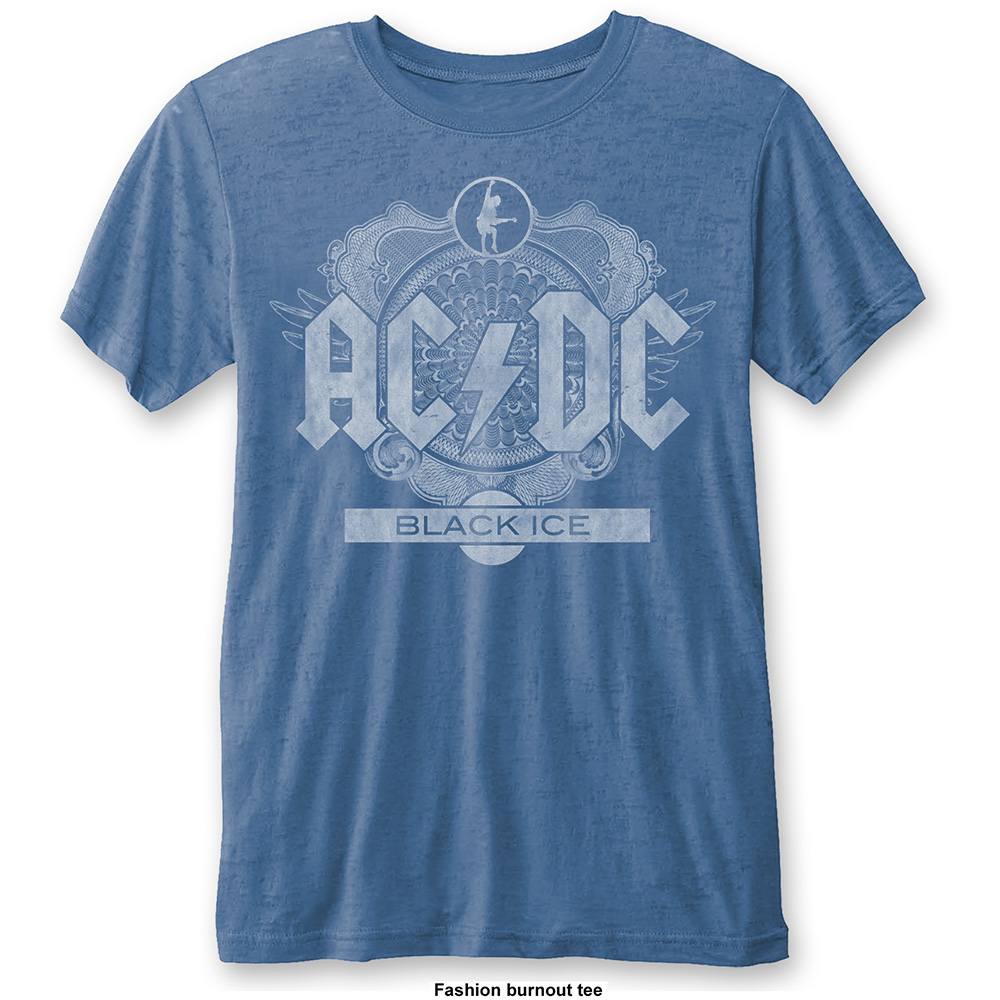 AC/DC - Black Ice Burnout (Blue)