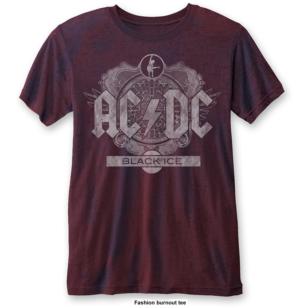 AC/DC - Black Ice Burnout (Navy/Red)