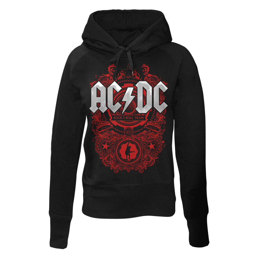 AC/DC - Rock N Roll Train (Black) (Women's)