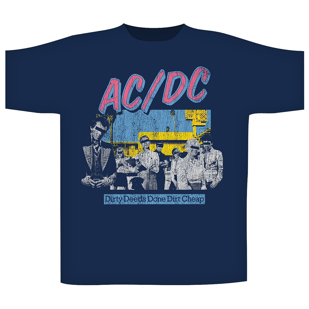 AC/DC - Dirty Deeds Done Dirt Cheap (Navy)