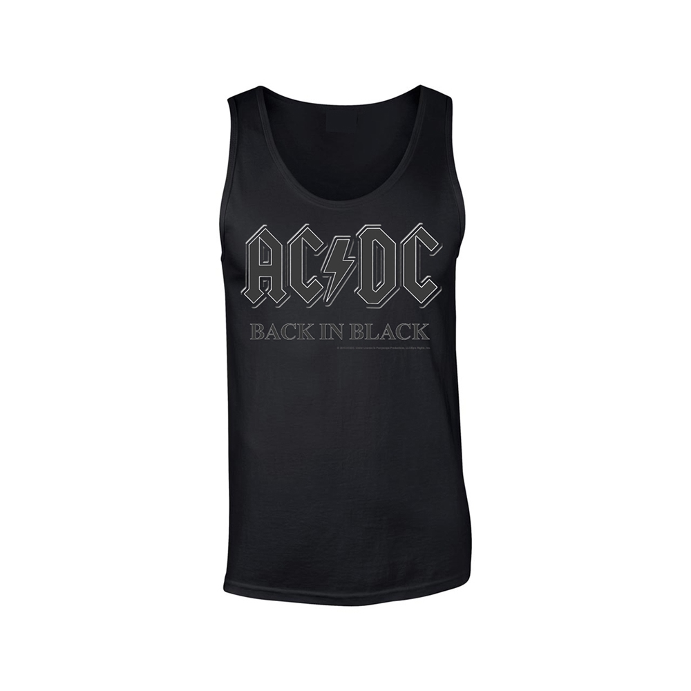 AC/DC - Back In Black (Tank Vest)