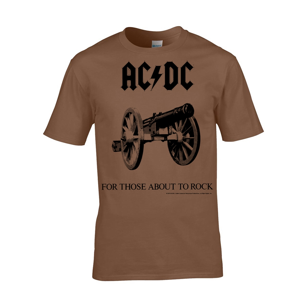 AC/DC - For Those About To Rock  (Brown)