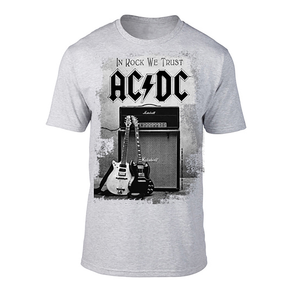 AC/DC - In Rock We Trust (Grey)