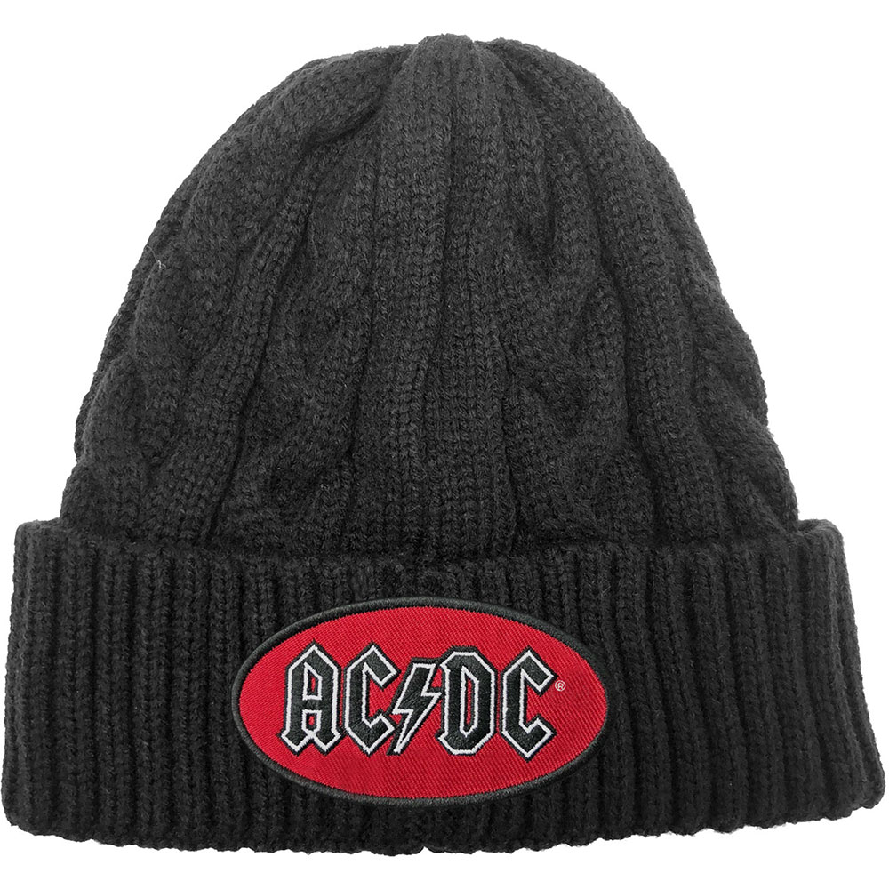 AC/DC - Oval Logo (Cable-Knit)