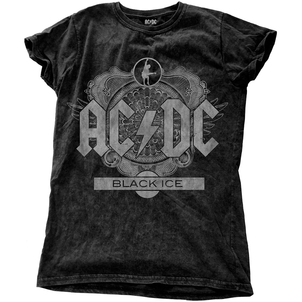 AC/DC - Black Ice (Snow Washed) (Ladies)