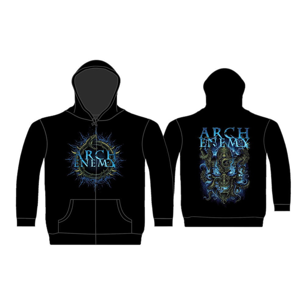 Arch Enemy - Destruction Plague (Zip Hoodie)