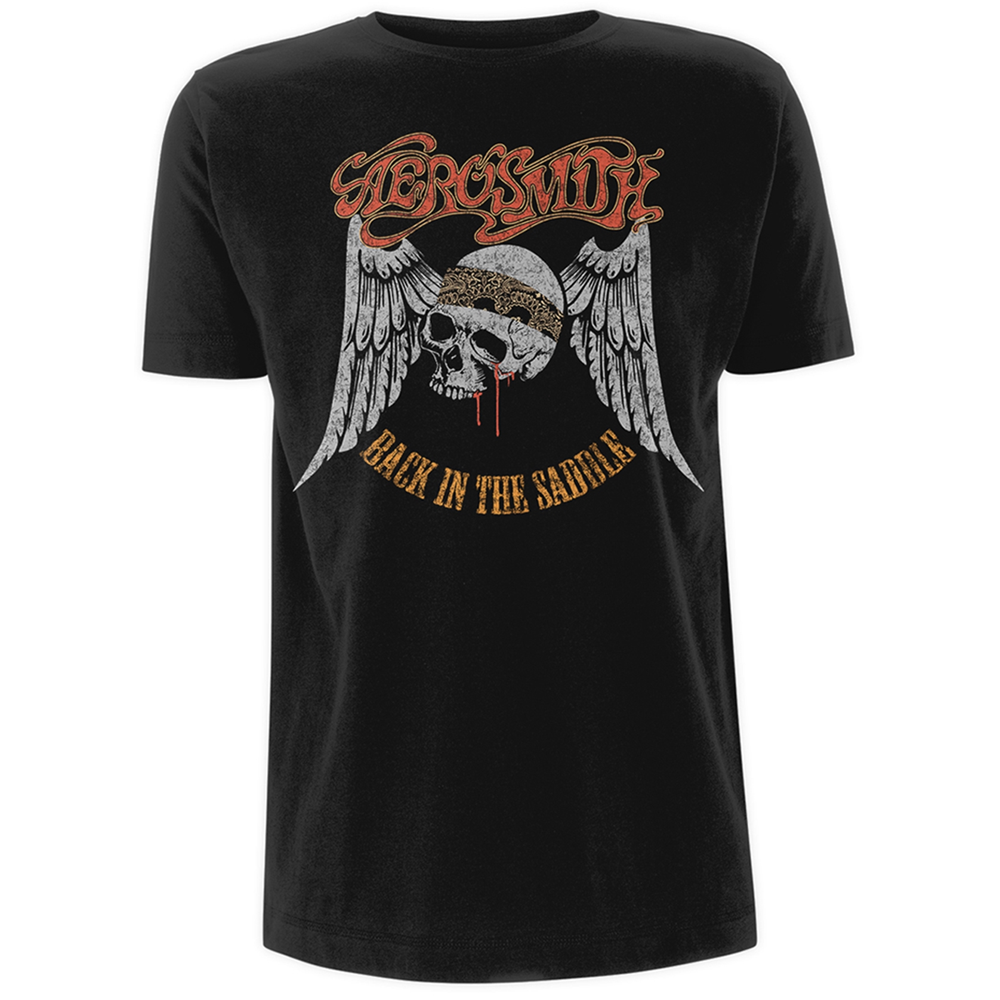 Aerosmith - Back In The Saddle (Black)