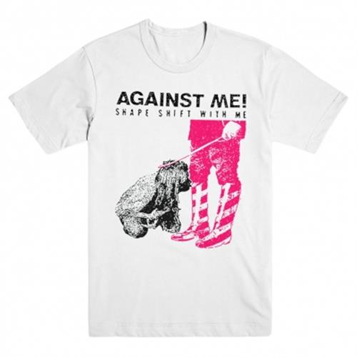 Against Me - Shape Shift With Me (White)