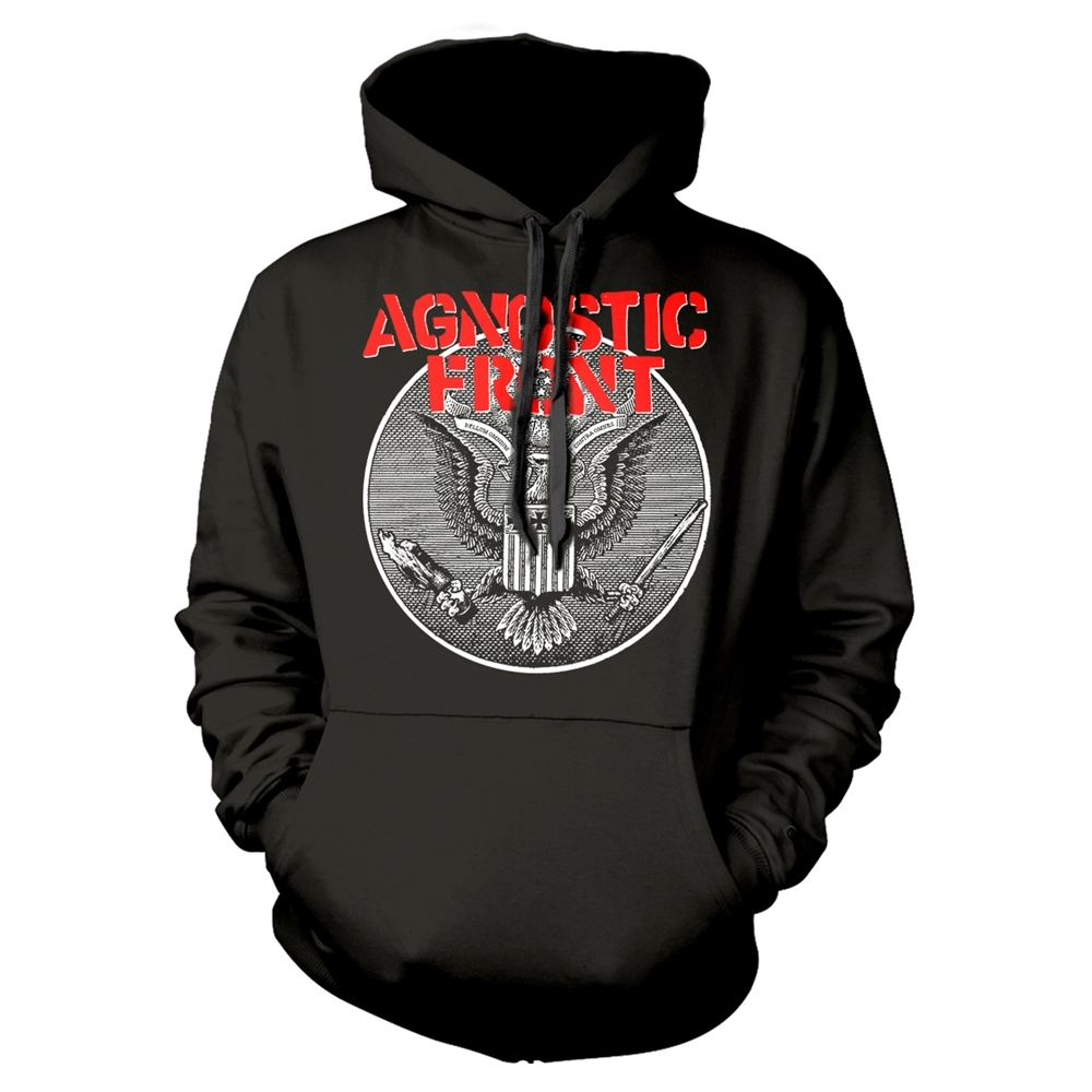 Agnostic Front - Against All Eagle (Hoodie)