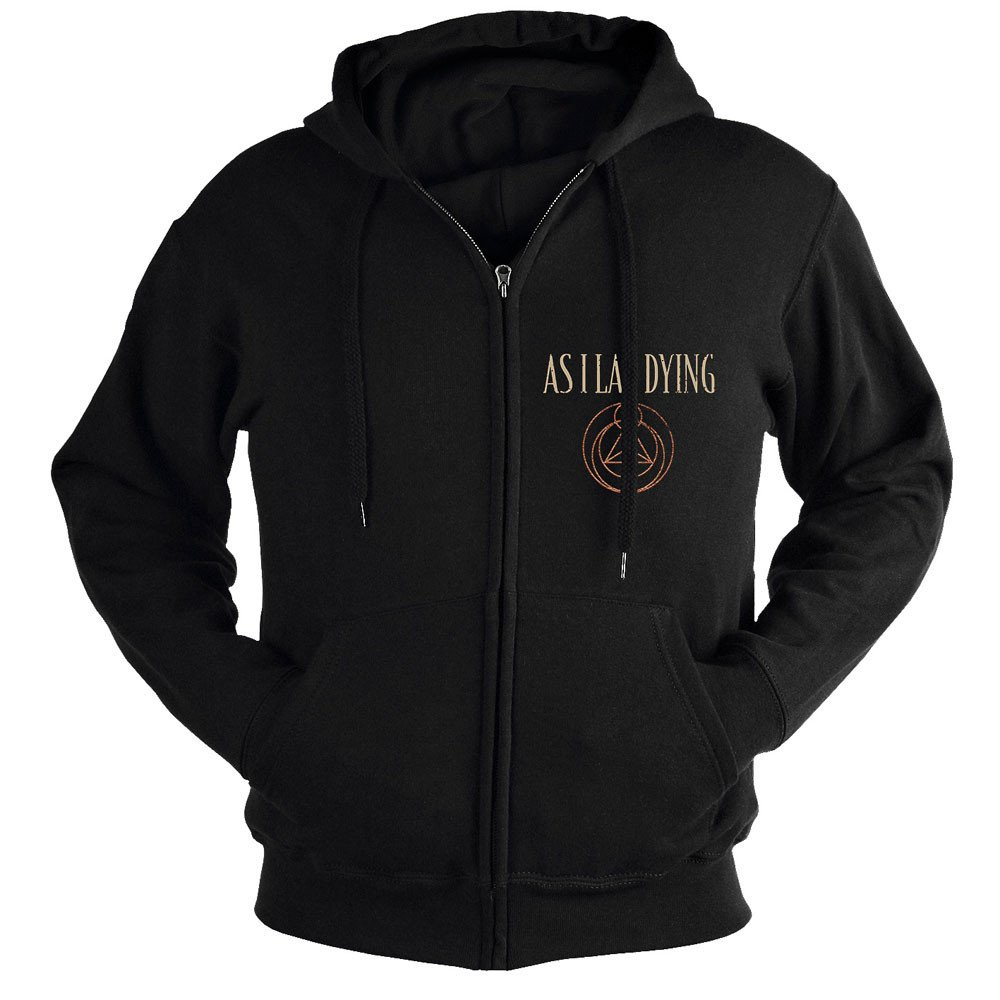 As I Lay Dying - Shaped By Fire (Zip Hoodie)