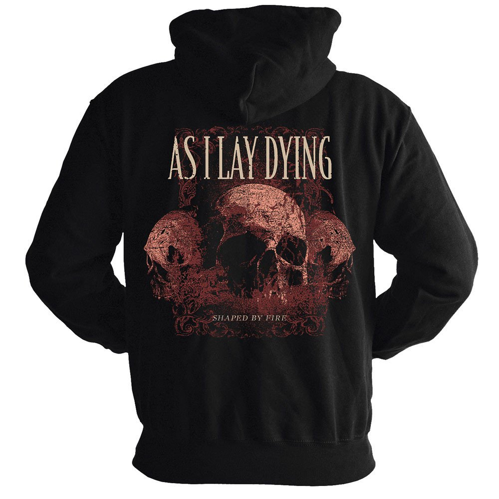 As I Lay Dying - Skulls (Hoodie)