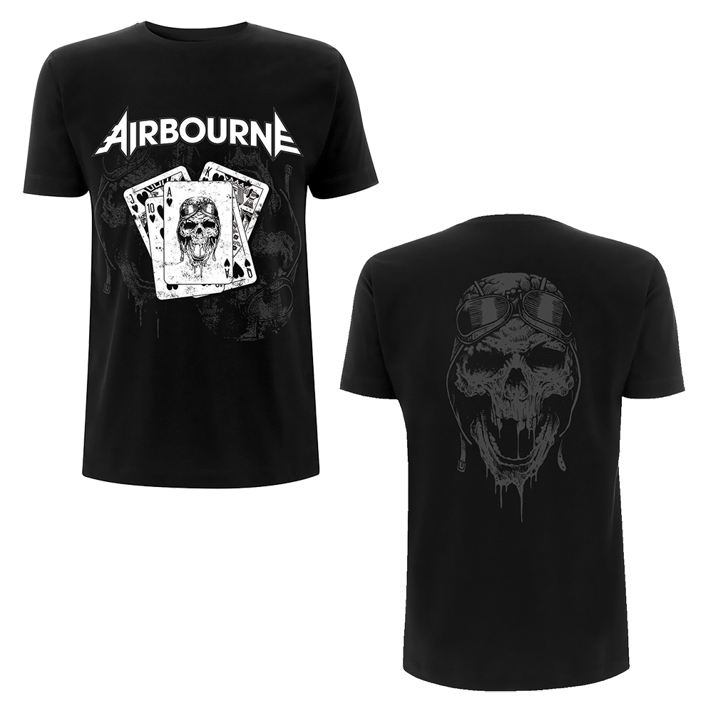 Airbourne -  Playing Cards (Black)