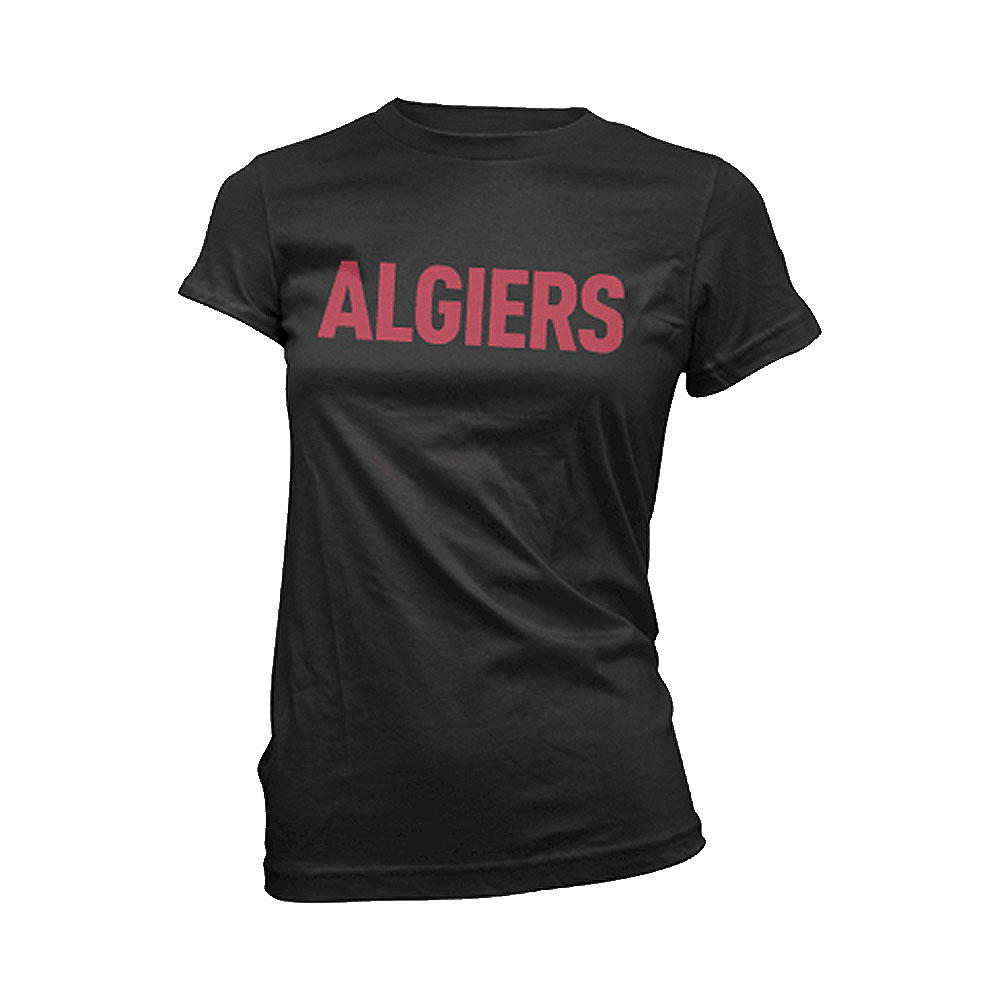 Algiers - Red Logo (Black)