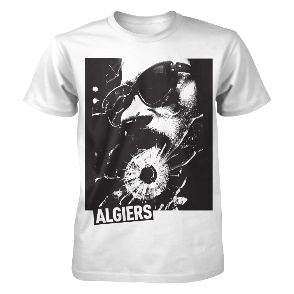 Algiers - Shattered Glass (White)