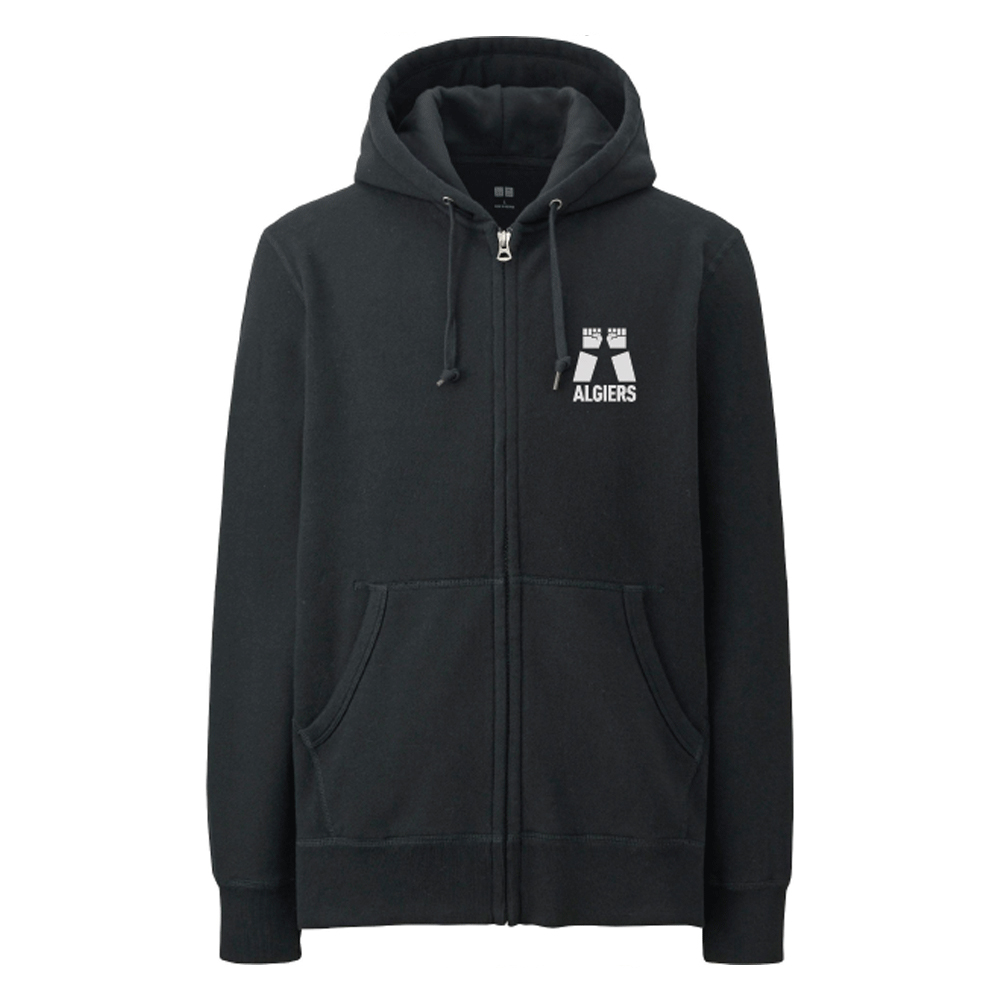 Algiers - Two Fists Logo Hoodie (US)