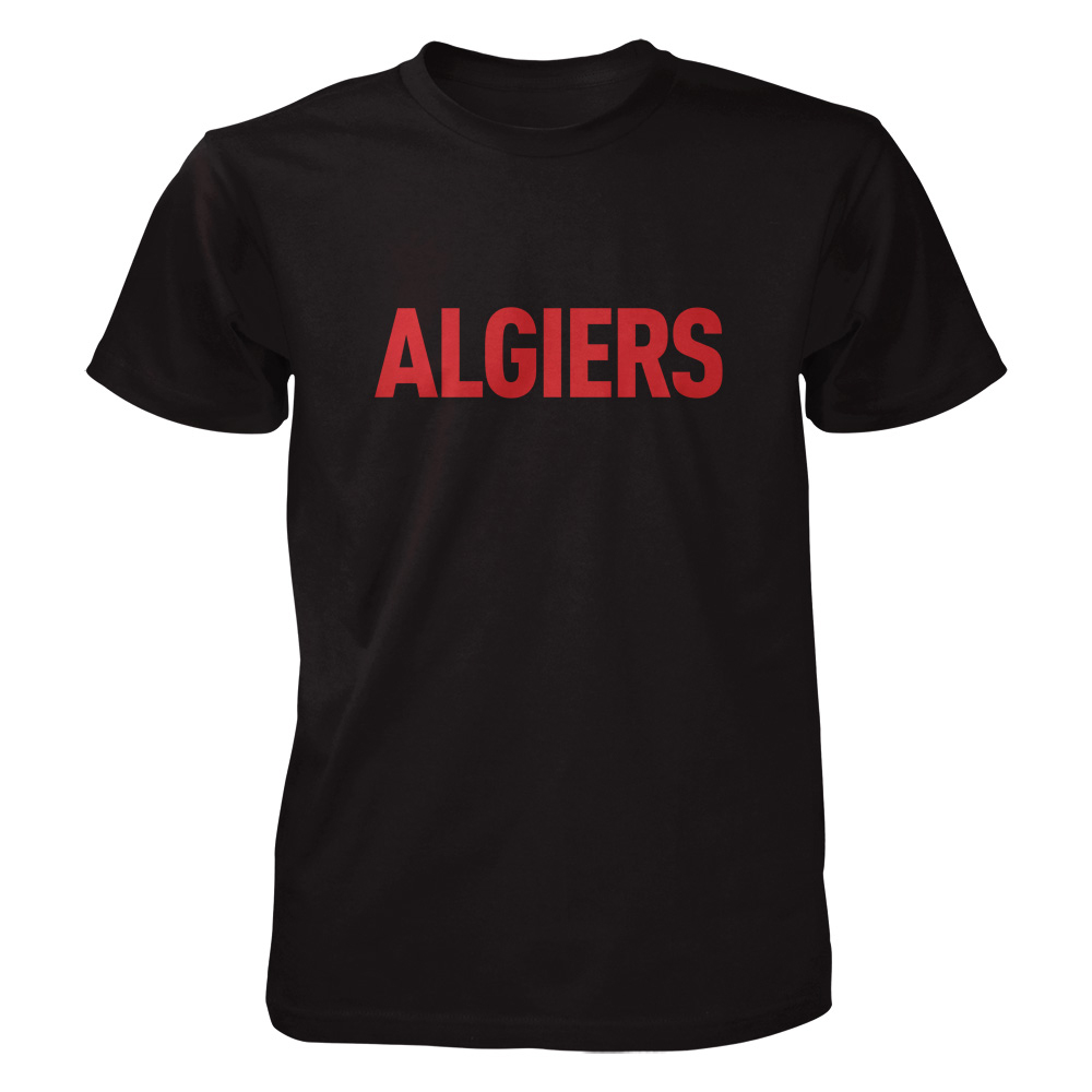 Algiers - Red Logo (US)