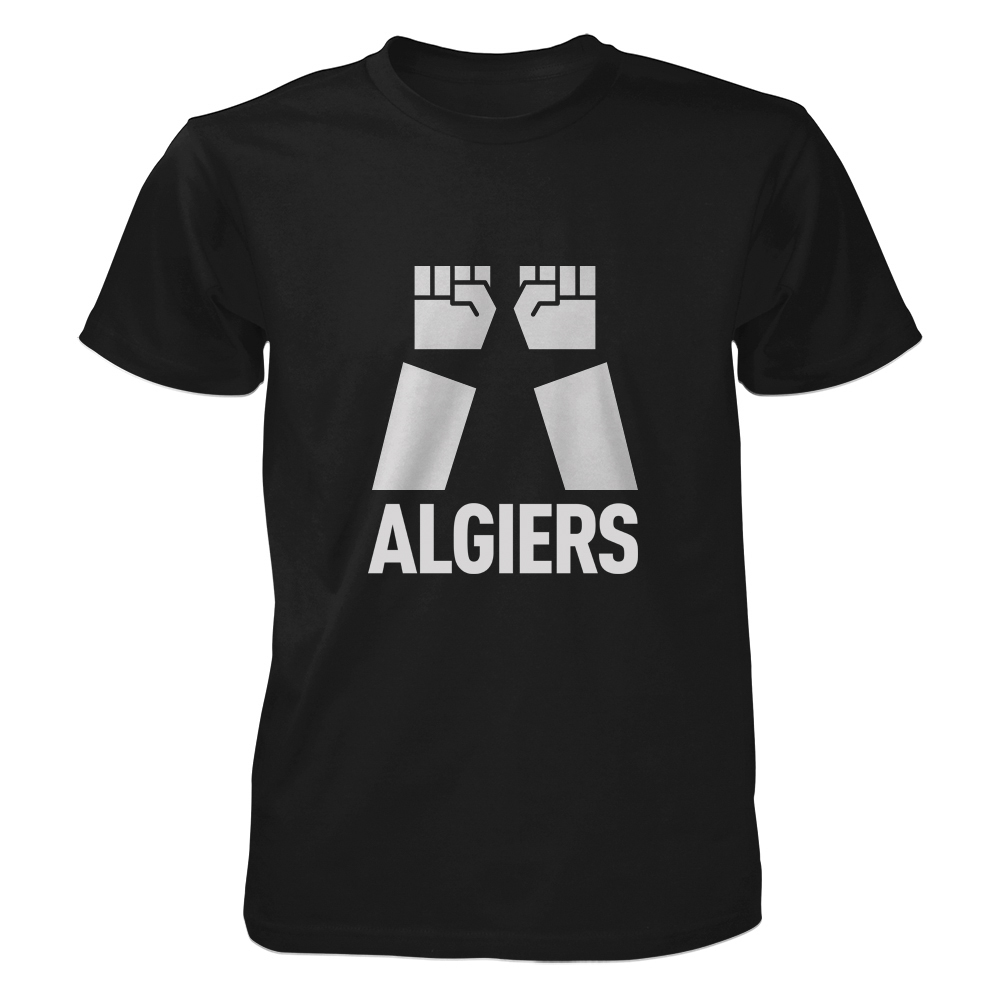 Algiers - Two Fists Algiers Logo Black/Grey