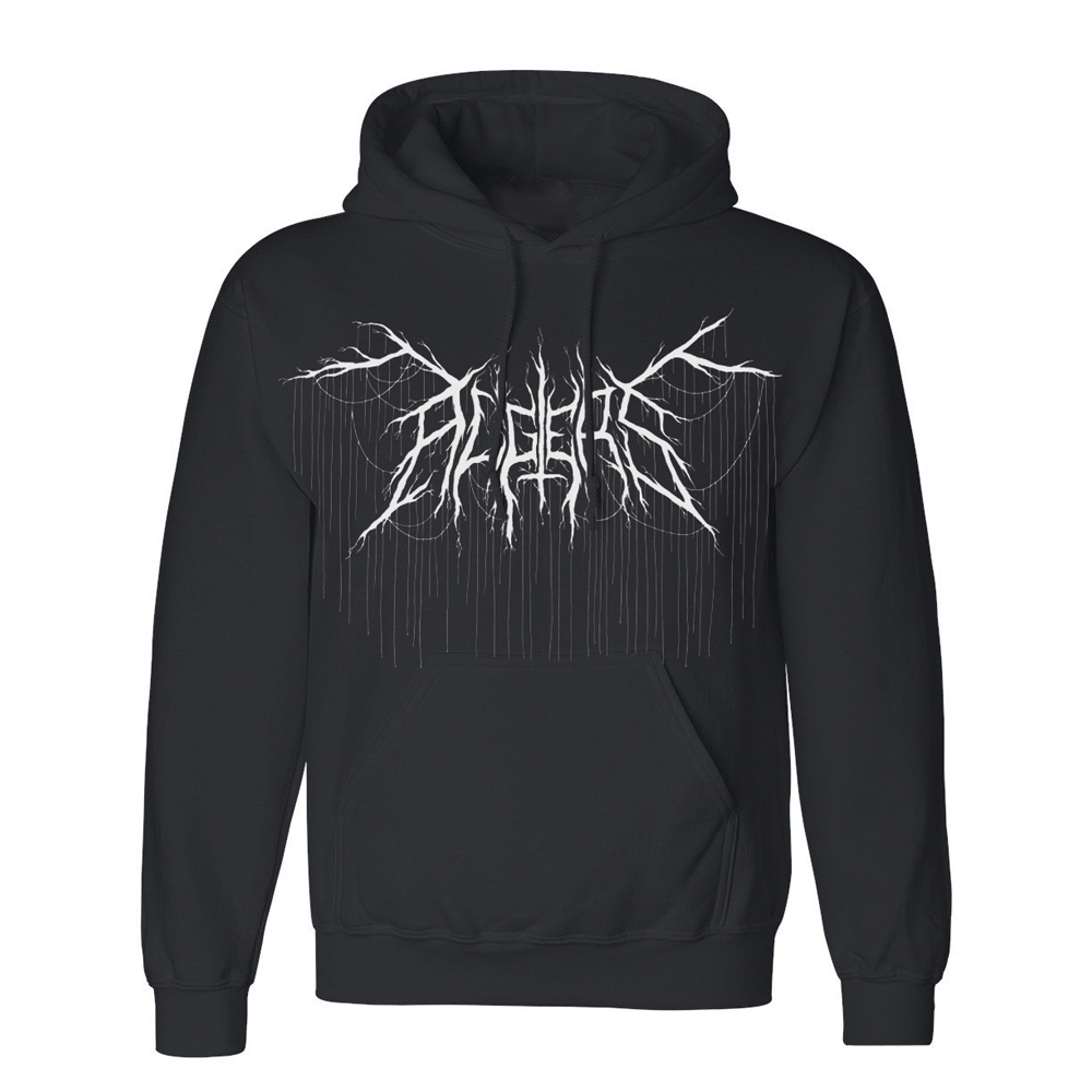 Algiers - Algiers Black Metal Oversized Hoodie [USA]