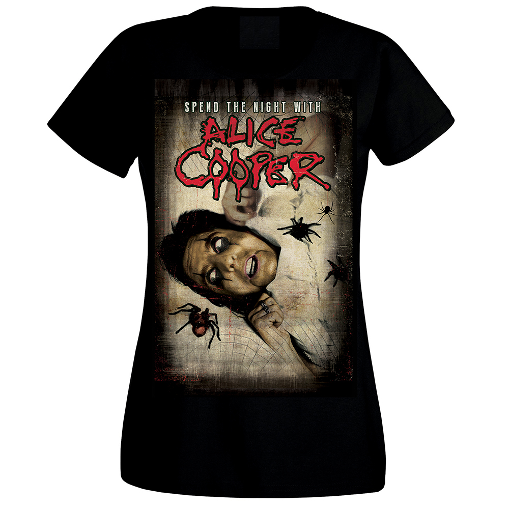 Alice Cooper - Spend The Night Spiders (Women's)