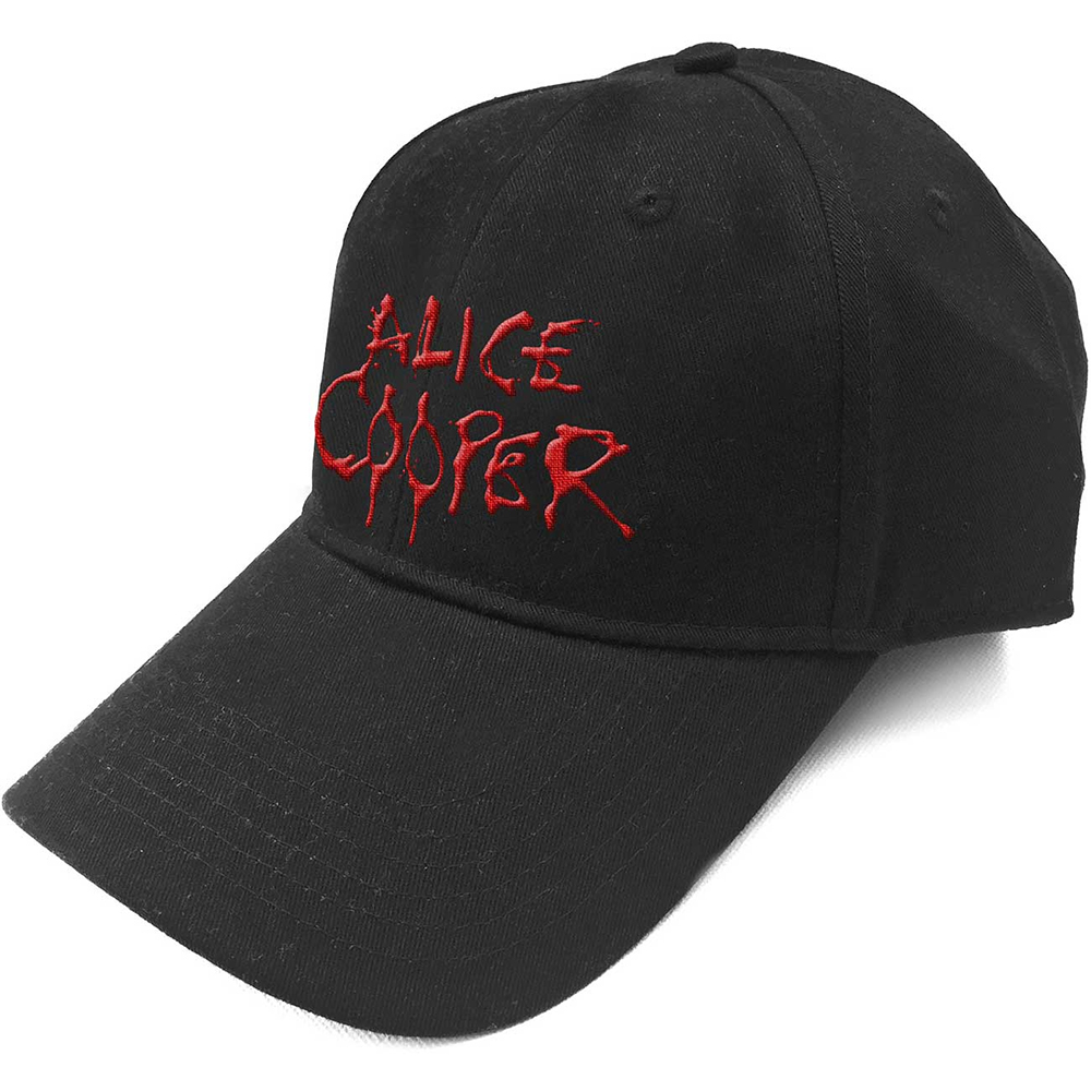 Alice Cooper - Dripping Logo (Baseball Cap)