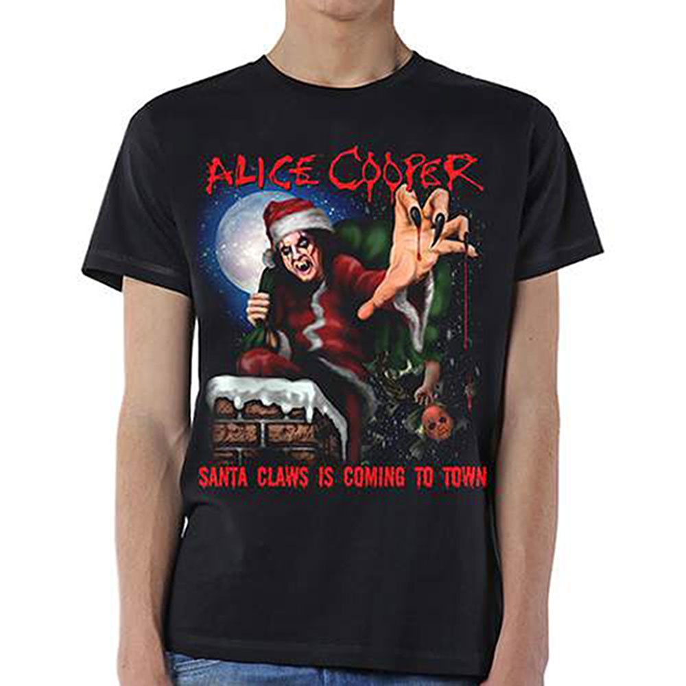 Alice Cooper - Santa Claws Tee
