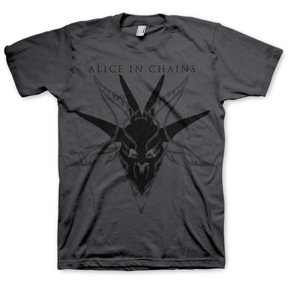 Alice In Chains - Black Skull (Charcoal)