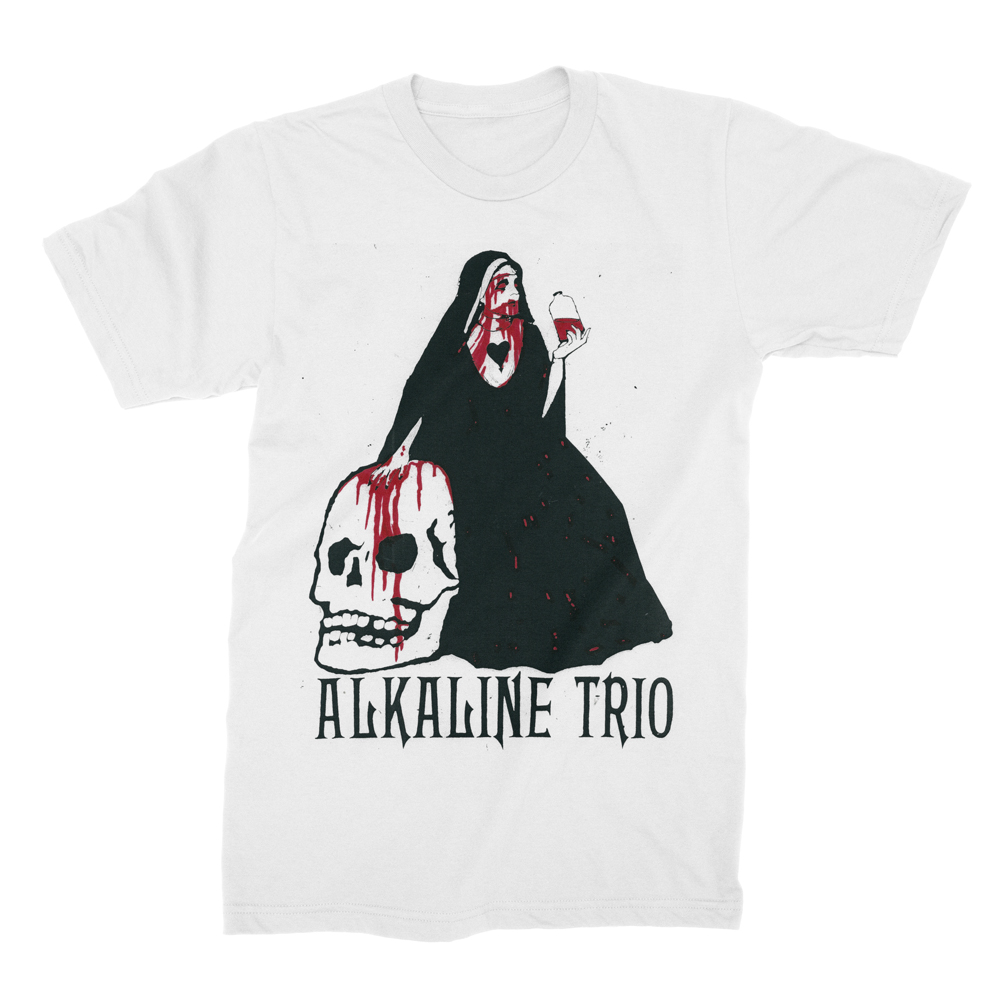 Alkaline Trio - Nun (White)