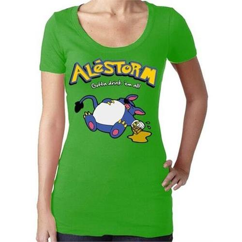 Alestorm - Drink Em All (Green) (Women's)