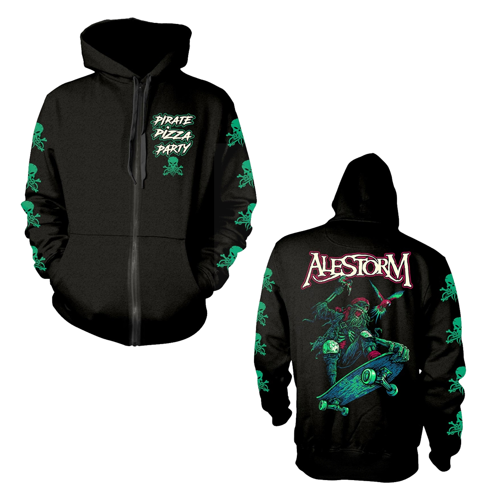 Alestorm - Pirate Pizza Party (Zip Hoodie)