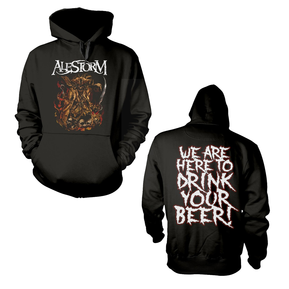 Alestorm - We Are Here To Drink Your Beer! (Hoodie)