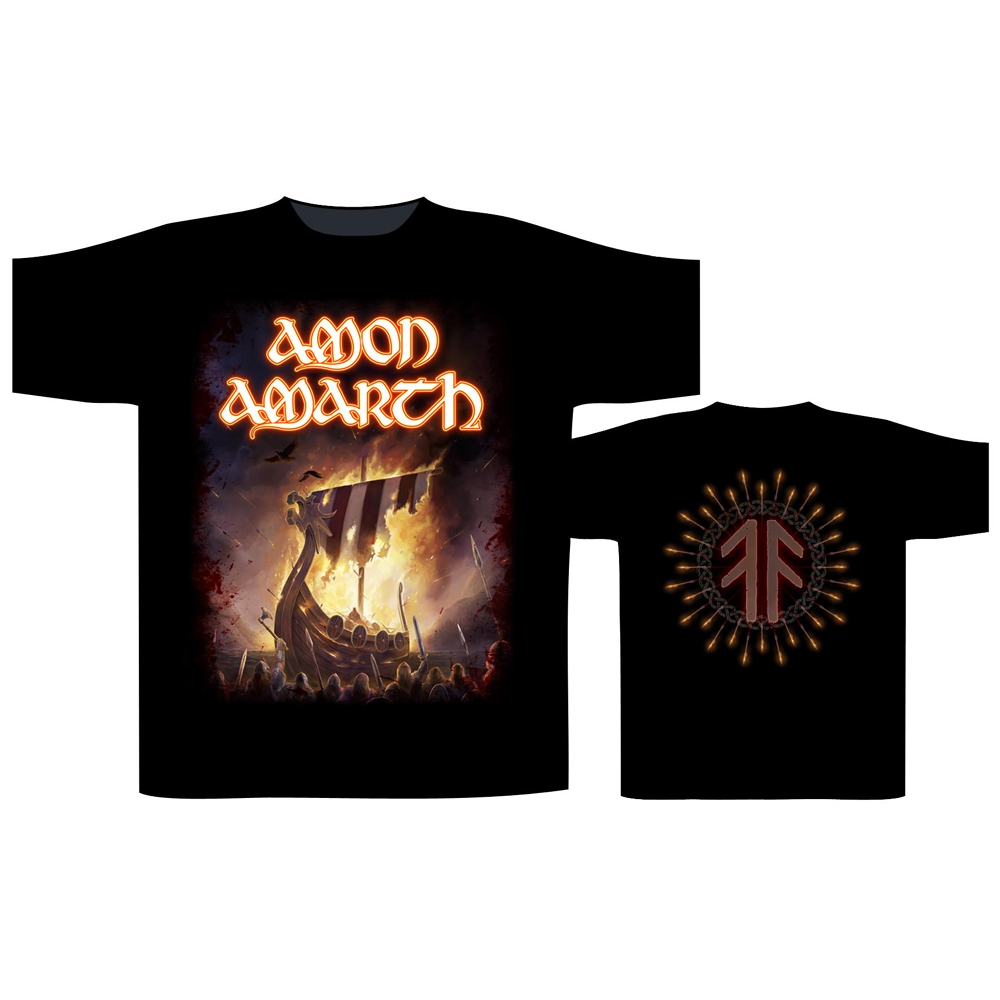 Amon Amarth - 1000 Burning Arrows
