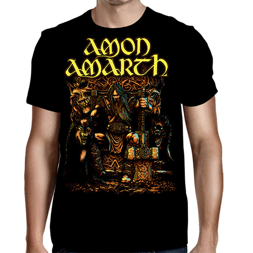 Amon Amarth - Thor Oden's Son (Black)