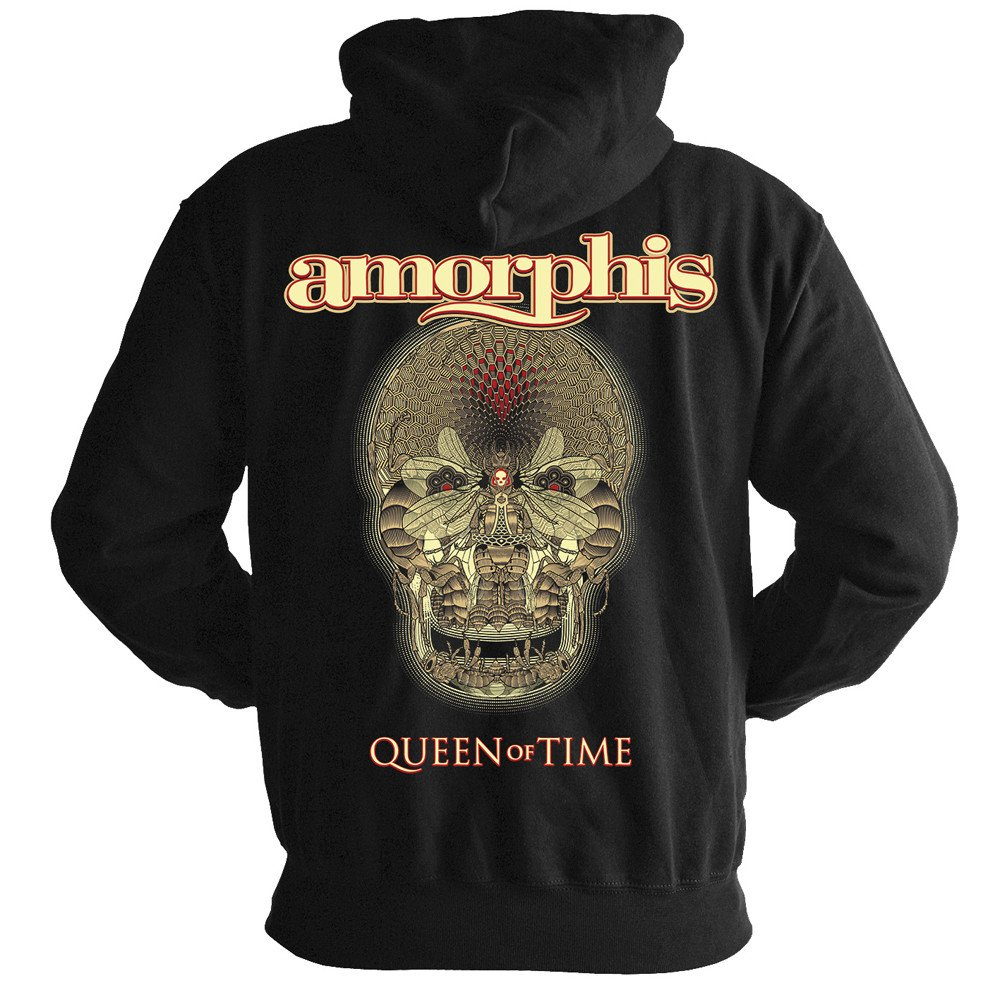 Amorphis - Queen Of Time (Zip Hoodie)