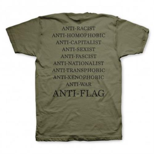 Anti-Flag - Flag Burner (Military Green)