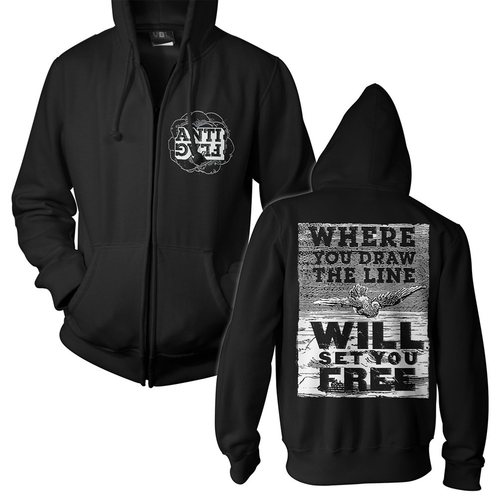 Anti-Flag - Debate (Zip Hoodie)