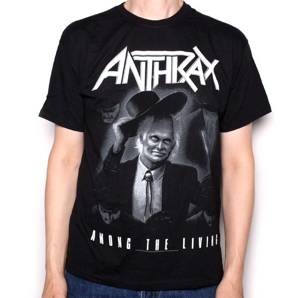 Anthrax - Among The Living (Black)