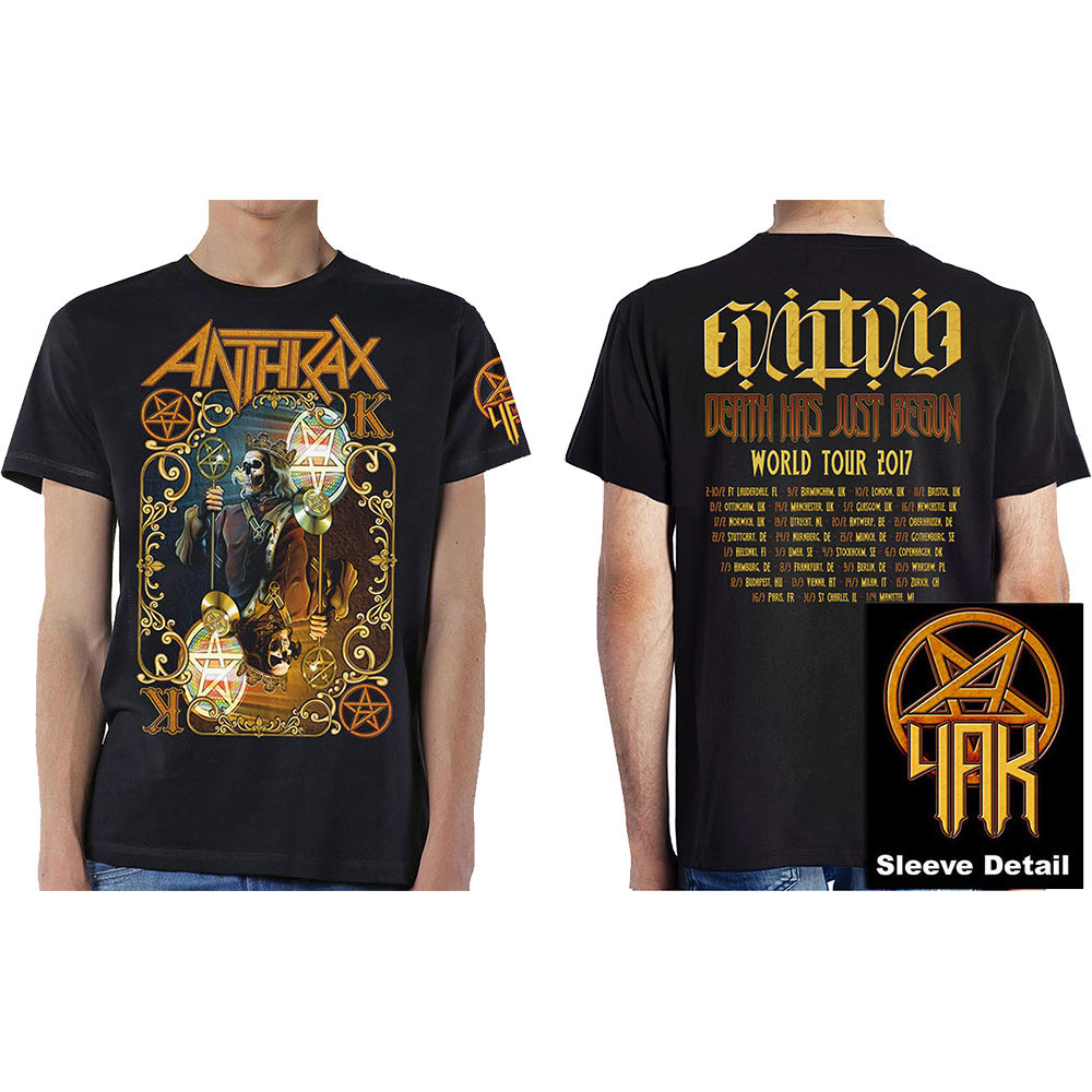 Anthrax - Evil Twin World Tour 2017 (Black)