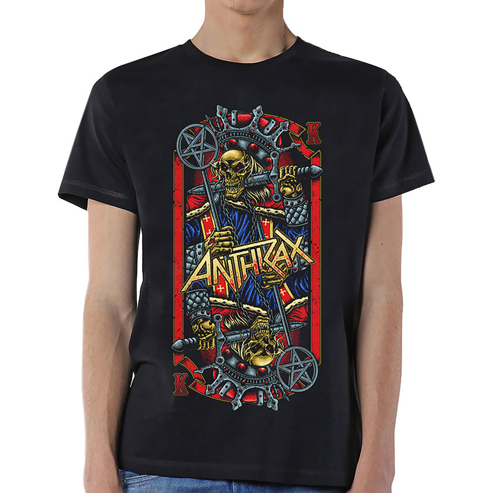 Anthrax - Evil King (Black)