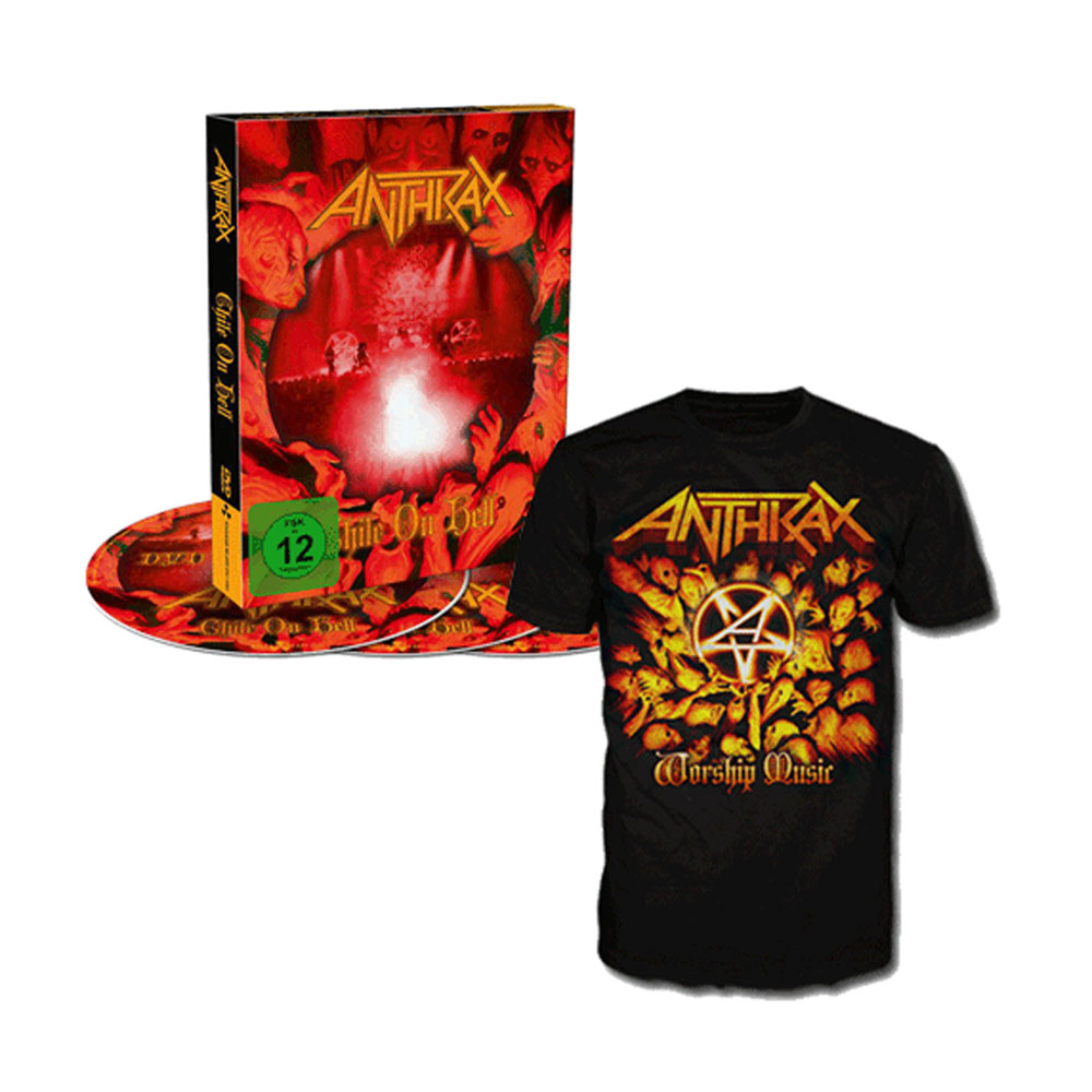 Anthrax - Chile On Hell and T-shirt Bundle