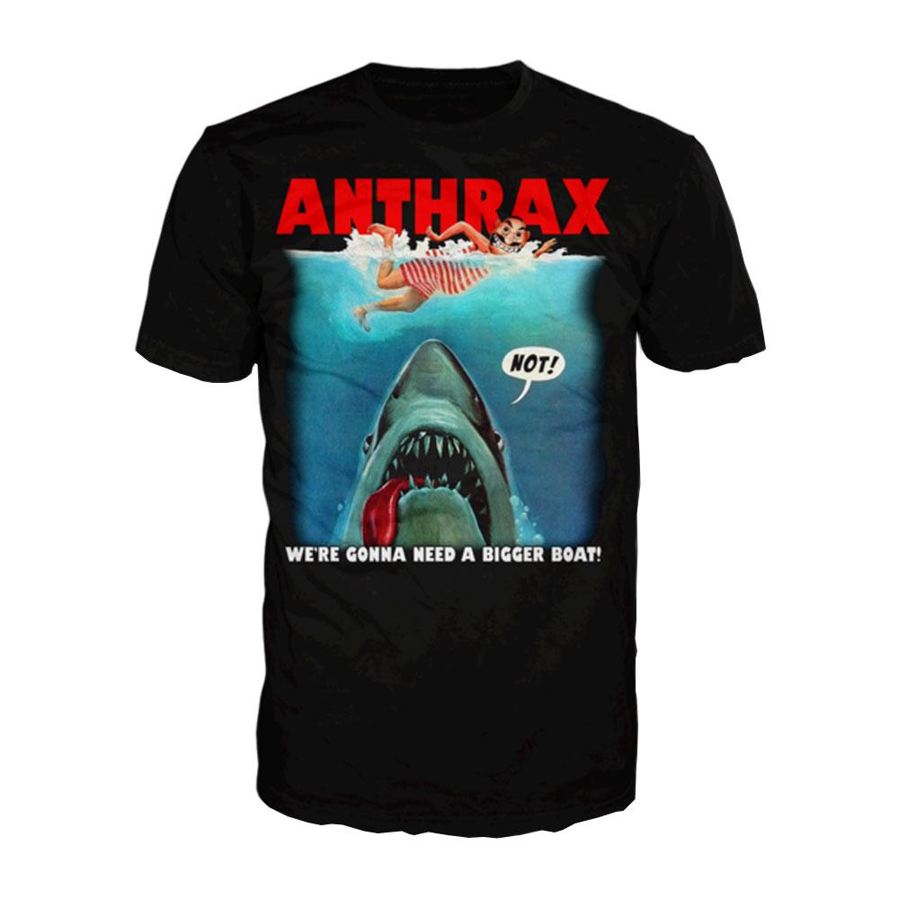 73a8c830e Anthrax | Jaws NOT | Anthrax | T-Shirt | Official Merch