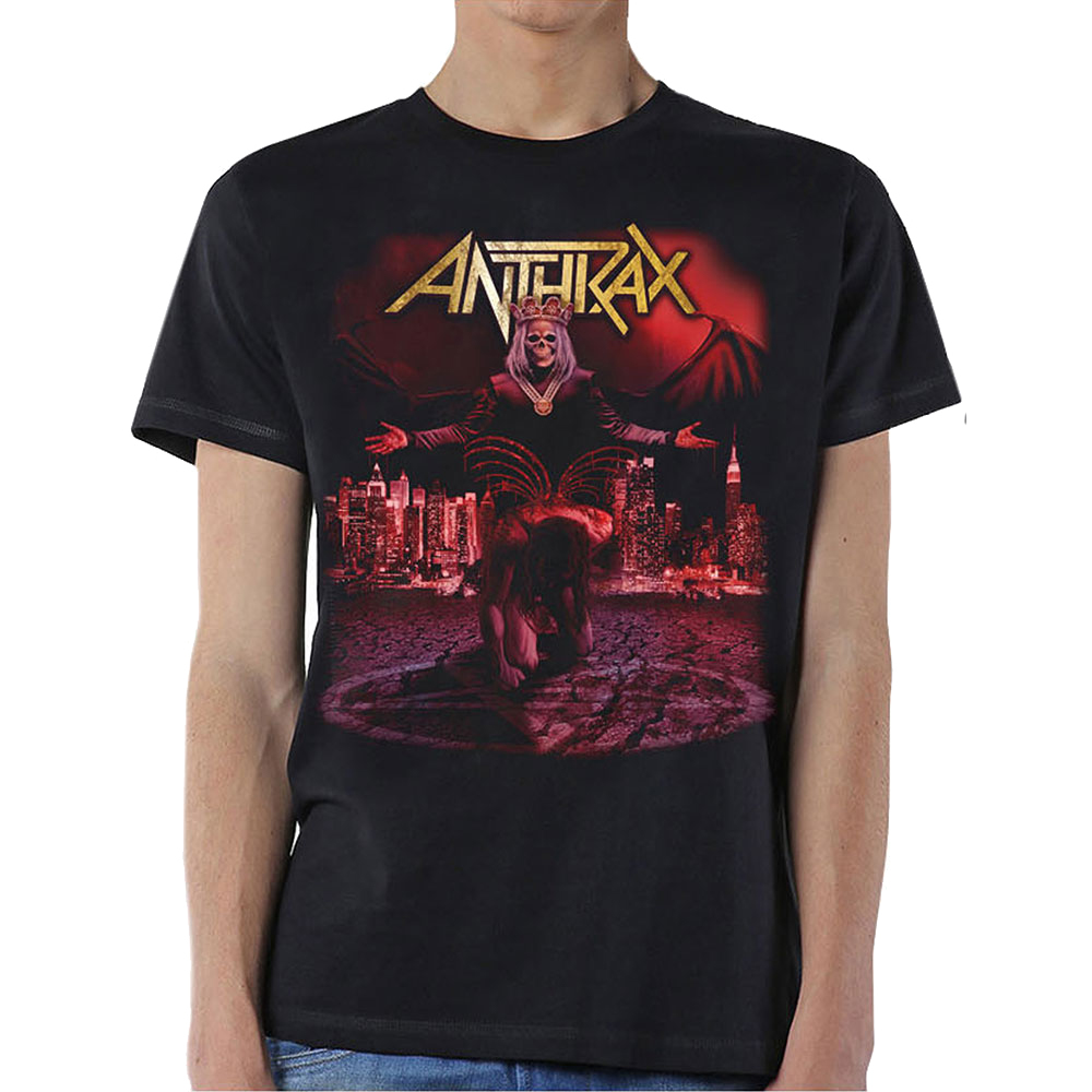 Anthrax - Bloody Eagle (With Back Print)